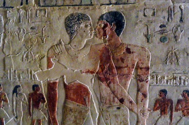 'El primer beso', hallado en una tumba egipcia del año...