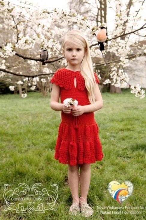 Neva Vodianova, la hija de la modelo rusa Natalia Vodianova, también...