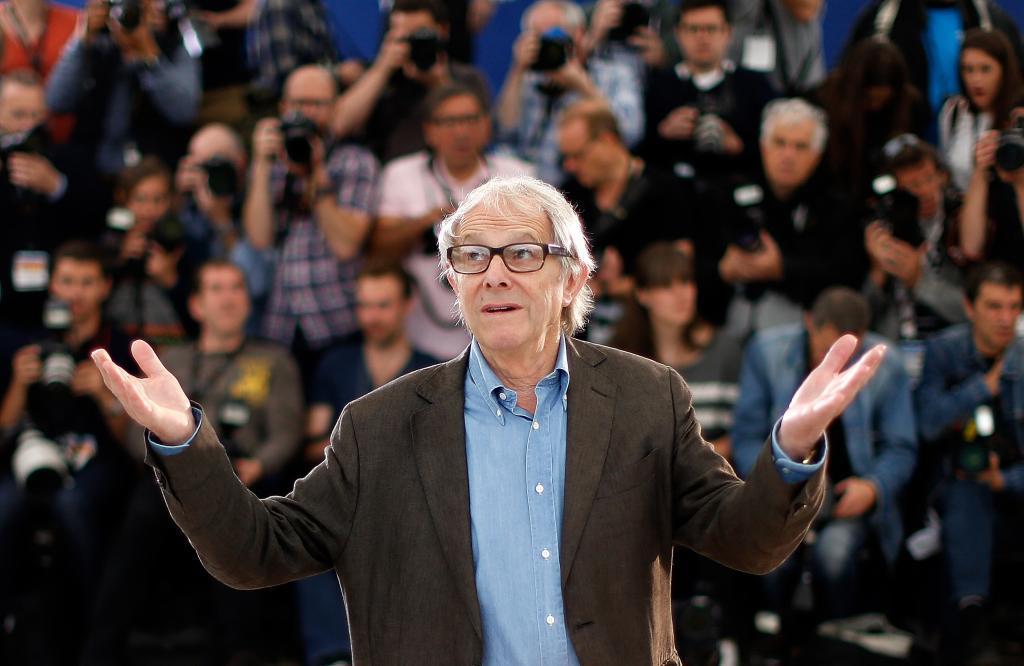 El director Ken Loach en la presentación de 'Jimmy?s Hall'...