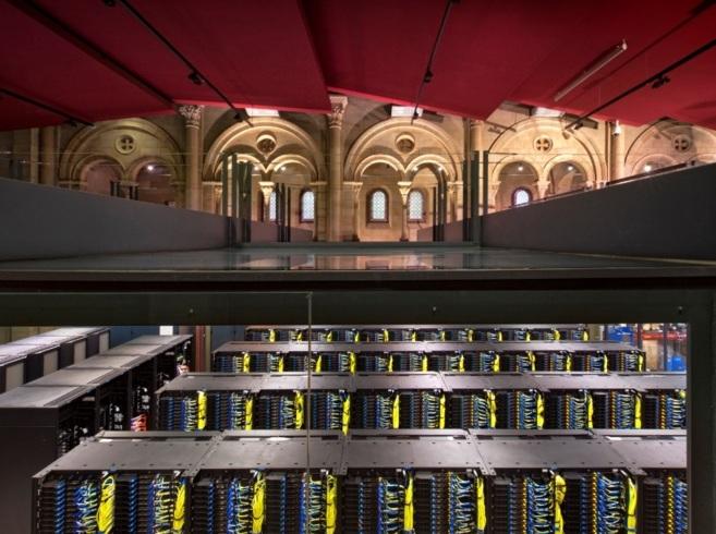 El MareNostrum 3, en el Barcelona Supercomputing Center.