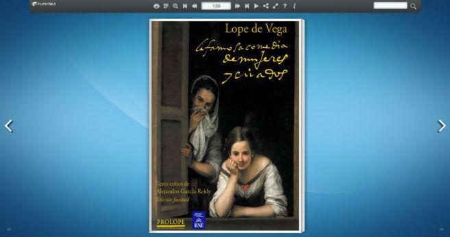 Imagen de la edición digital de 'Mujeres y criados', en la...