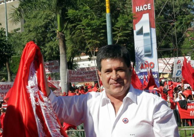 El presidente paraguayo, Horacio Cartes.