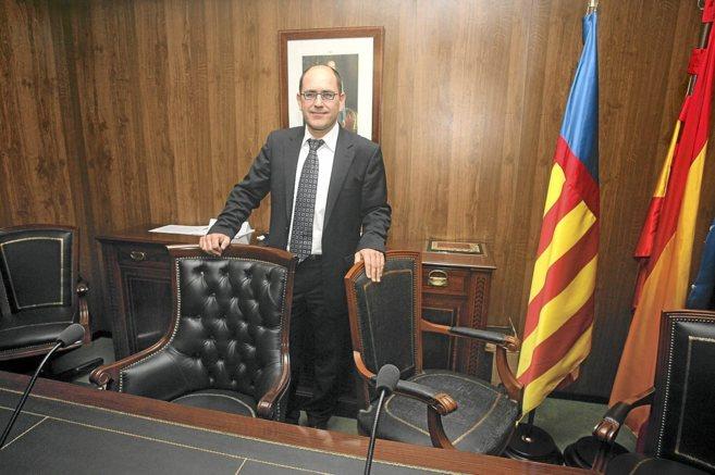 El alcalde de Teulada-Moraira, Antoni Joan Bertomeu, del Partido...