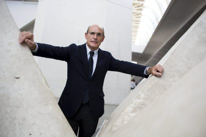 Rafael Bengoa, ayer en el Museo Príncipe Felipe de la Ciudad de las...