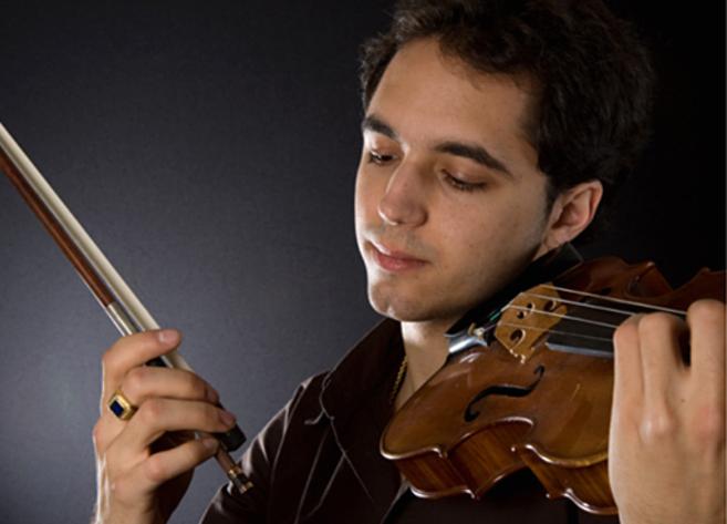 El violinista Jesús Reina en una imagen promocional.