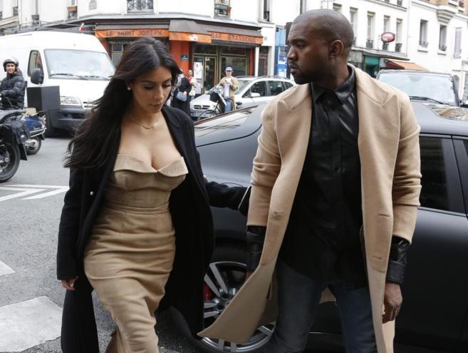 La pareja, esta semana en París, aunque se darán hoy el 'sí,...