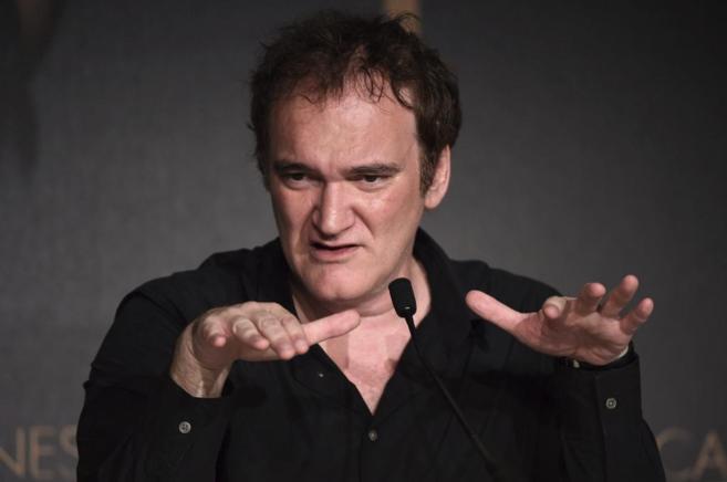 El director estadounidense Quentin Tarantino ofrece una rueda de...