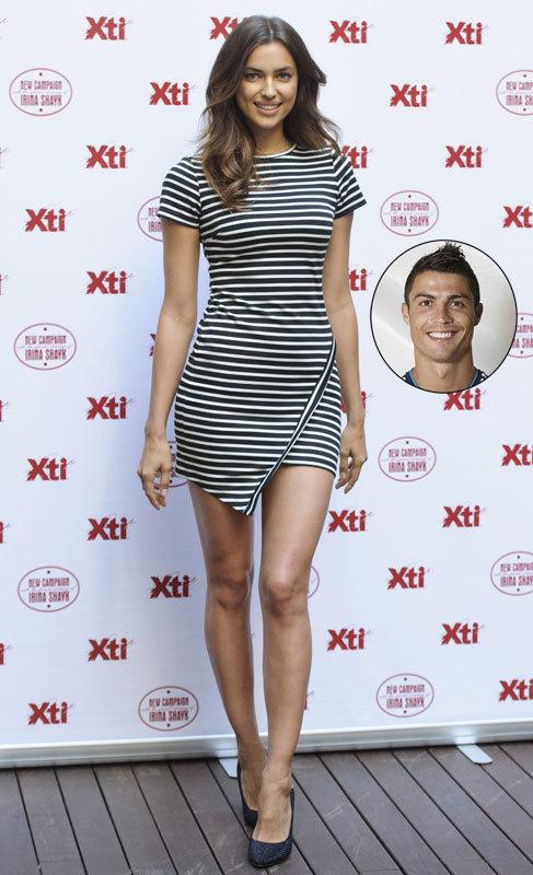 Irina Shayk es la 'capitana' de la selección de las 'wags'. Hoy...