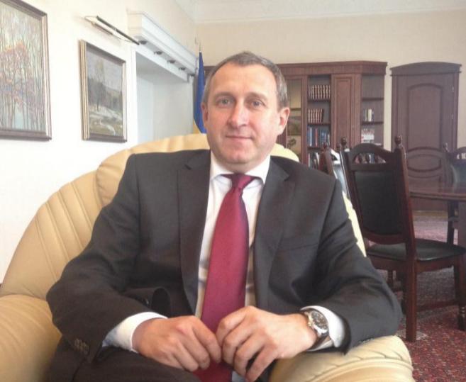 Andrei Deshchitsa, ministro de Asuntos Exteriores de Ucrania.