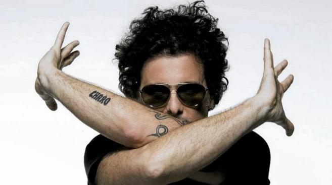 Andrés Calamaro en una imagen promocional