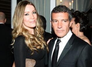 Antonio Banderas, con una misteriosa rubia en Cannes.