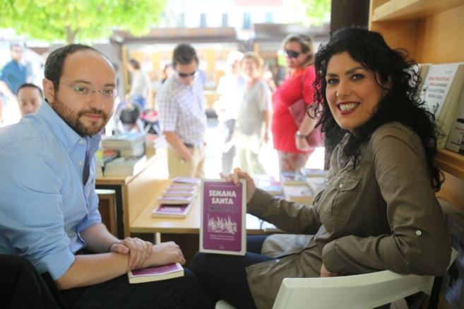 José María Rondón y Eva Díaz Pérez, con su obra 'Semana...