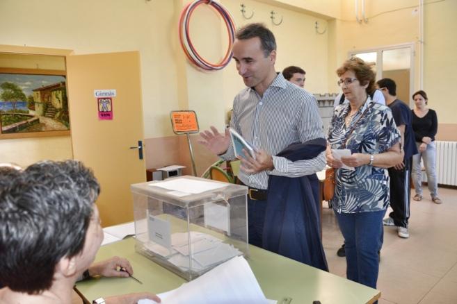 El candidato PSOE a las elecciones europeas, Pere Joan Pons.