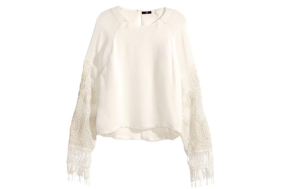 Camisa bordada, de H&M (39,95 ¤).