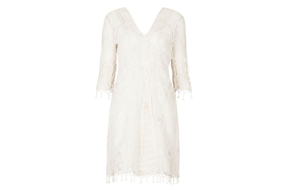 Vestido de la colección Kate Moss, de Topshop (195 ¤).