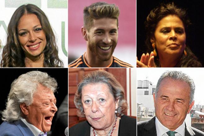 Eva González, Sergio Ramos, Aurora Vargas, Pansequito, Enriqueta Vila...