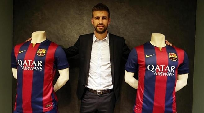 Gerard Piqué ha firmado este lunes su renovación con el F.C....