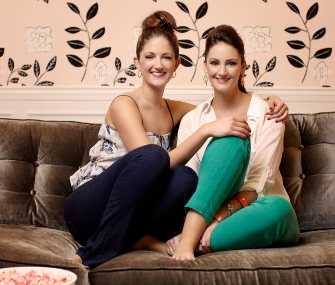 Maggie y Annie Ford Danielson, hijas de las creadoras de Benefit.
