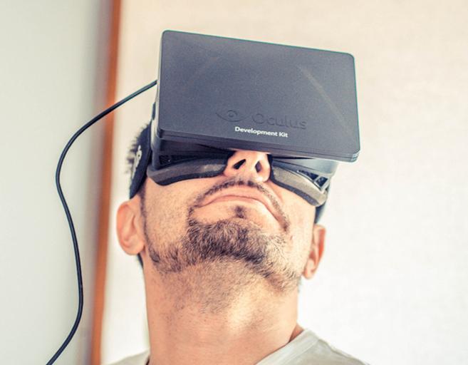 El visionado del documental 'Clouds' a través de las gafas...