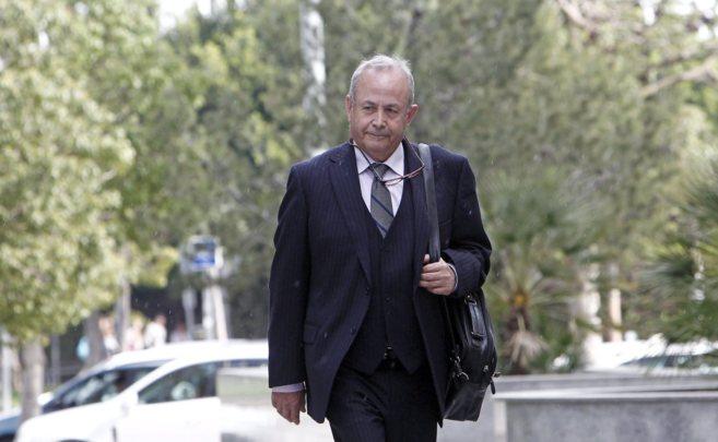Imagen reciente del juez Castro a su llegada a la ciudad de la...