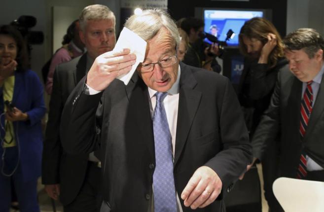El candidato a presidente de la Comisión Europea, Jean...