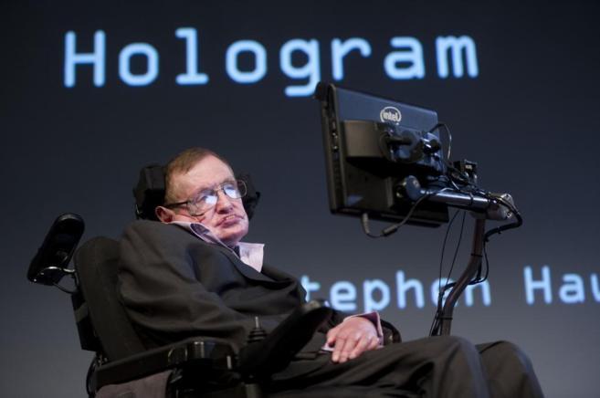 El astrofísico Stephen Hawking, en una conferencia en la Universidad...