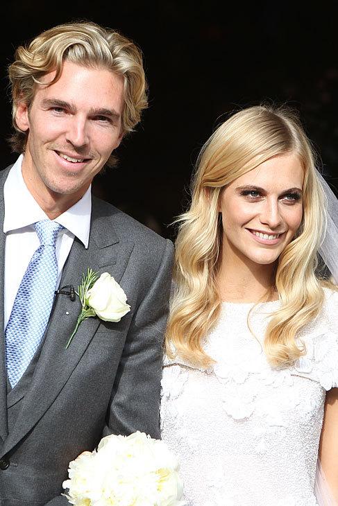 Poppy y James, cuya historia de amor comenzó en 2007, se dieron el...