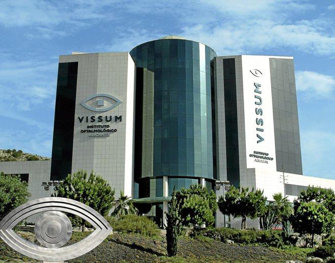 Instalaciones de la clínica oftalmológica Vissum, en Alicante.