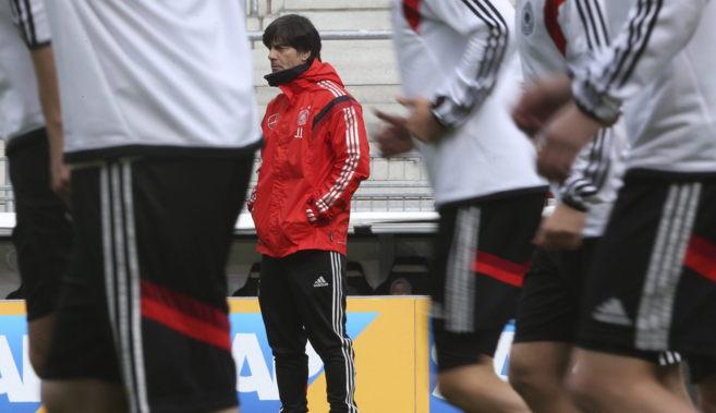 El entrenador de la selección alemana, hace unas semanas.