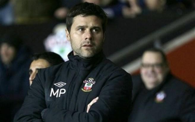 Pochettino, en un encuentro con el Southampton.