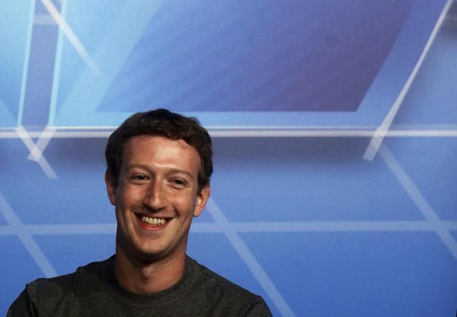 El CEO de Facebook, Markl Zuckerberg