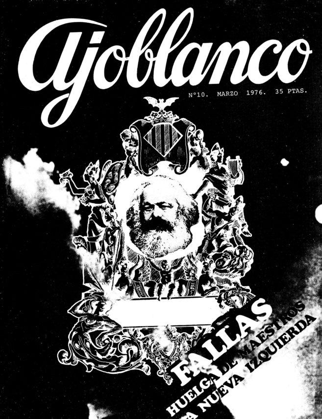 Portada del número de la revista dedicado a las Fallas en 1976.