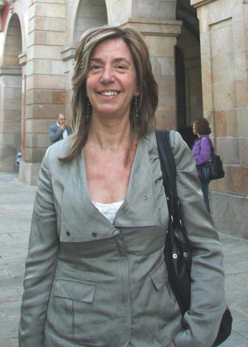 La diputada del PSC Montserrat Capdevila
