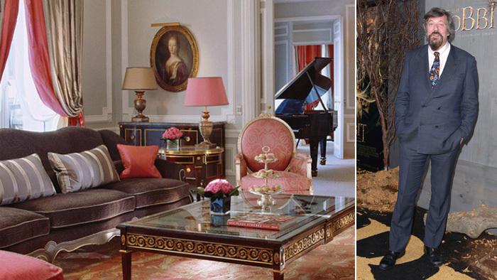 Suite de uno de los hoteles de la cadena Dorchester Collection,...