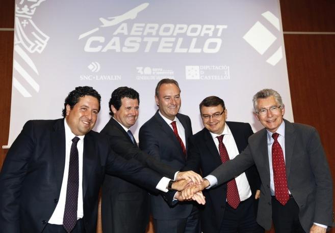Alberto Fabra, el martes en Castellón tras la firma del contrato con...