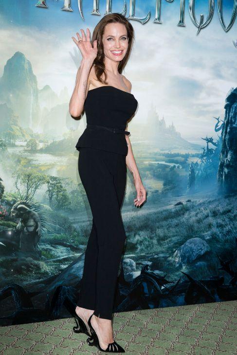 Ralph Lauren firma el 'look' de Angelina en la première de París,...