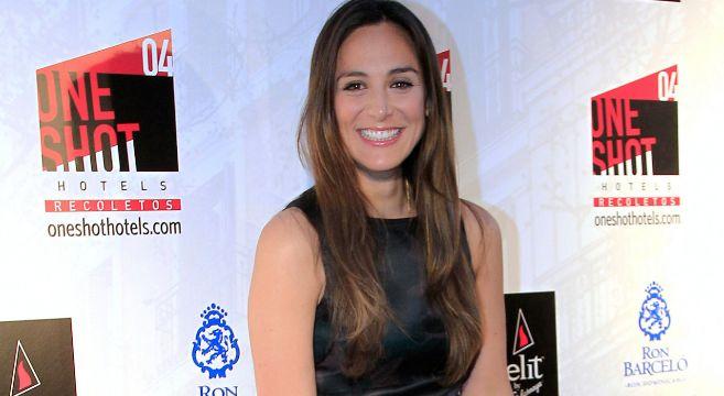 Tamara Falcó, en la inauguración del hotel del hijo de Carmen Tello.