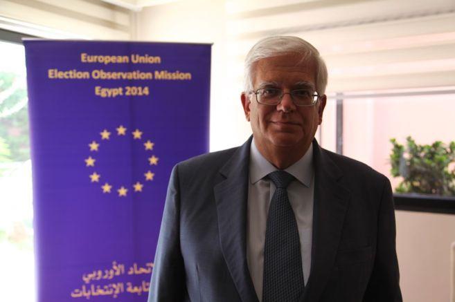 Mário David, jefe de la misión de observadores electorales de la UE...