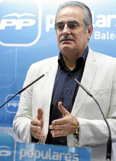 El diputado nacional y portavoz del PP, Miquel Ramis.