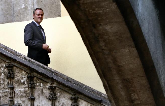 El presidente de la Generalitat, Alberto Fabra, antes de su...