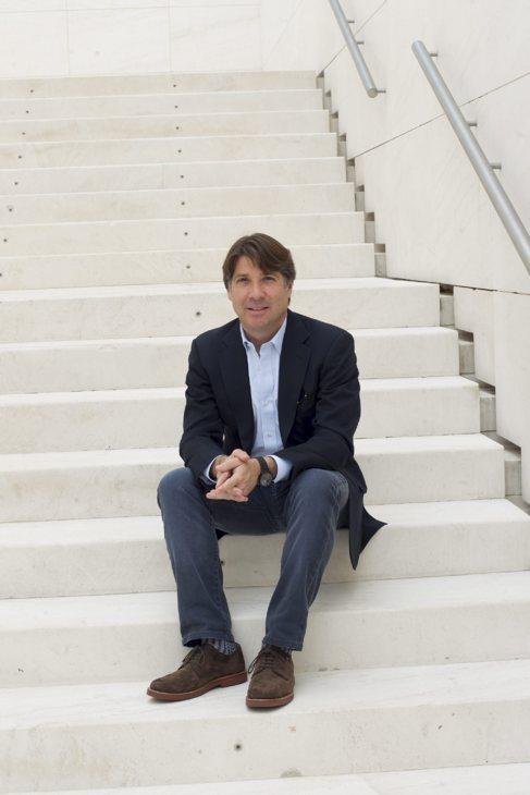 El CEO de GigaOm, Paul Walborsky, en Caixaforum Barcelona.
