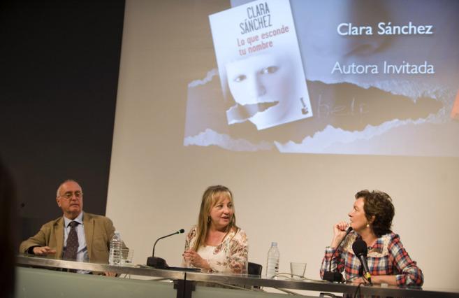 Clara Sánchez, este jueves en las jornadas literarias organizadas por...