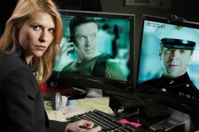 Imagen promocional de la serie 'Homeland'