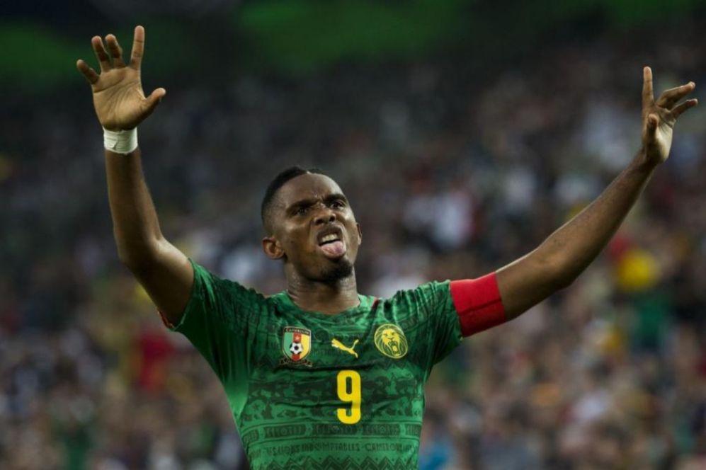Samuel Eto'o marcó uno de los goles de Camerún frente a Alemania. El...