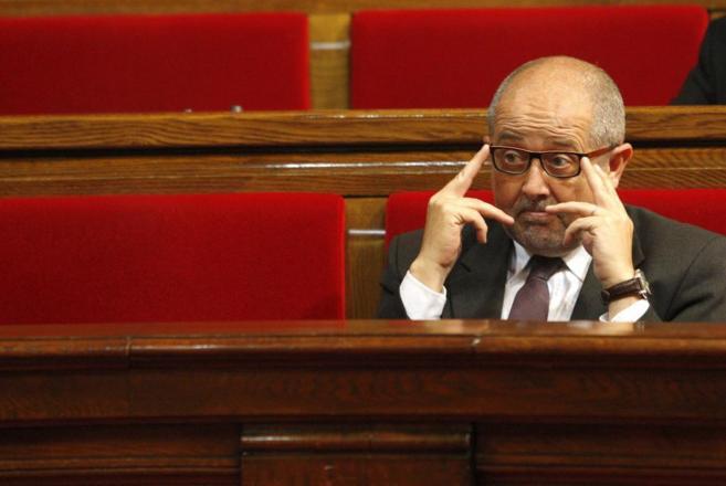 El consejero de Empresa y Ocupación de la Generalitat, Felip Puig, en...