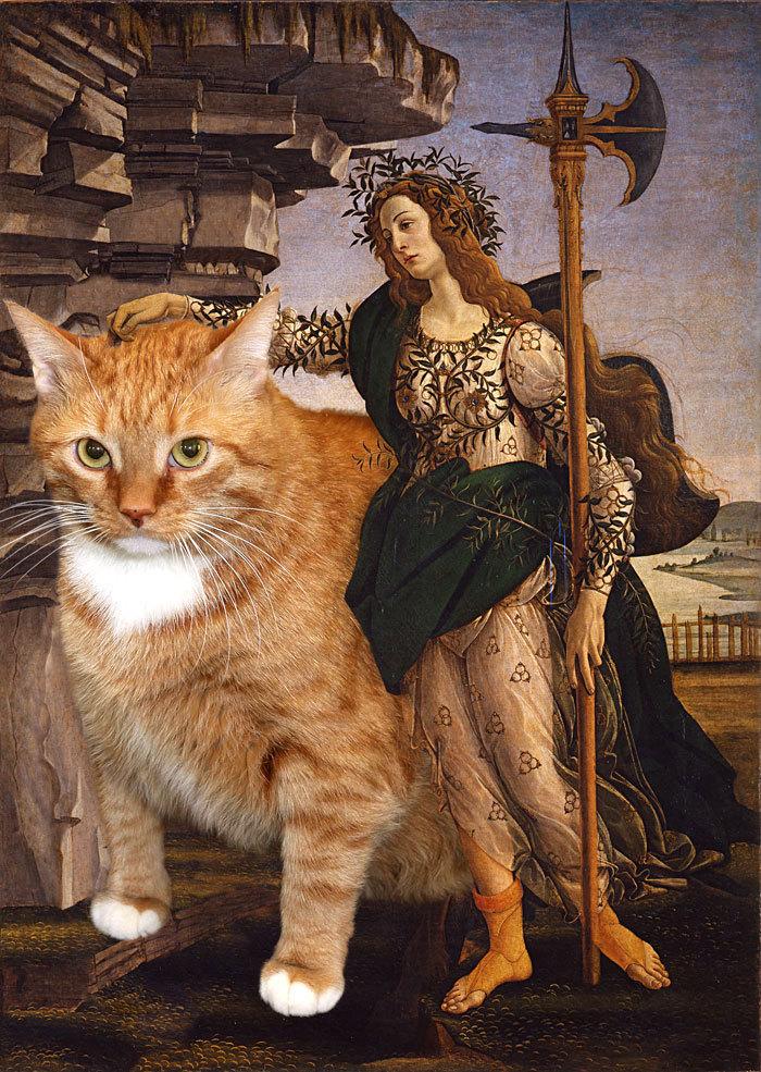 Sus proyectos artísticos no habían trascendido más allá de los círculos rusos hasta que irrumpió el gato, como la artista, huérfano de madre.