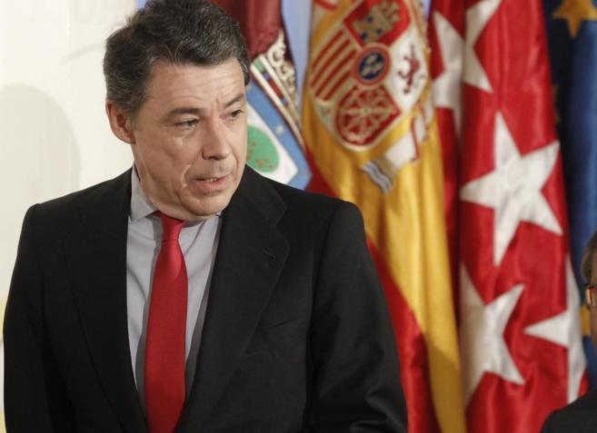 El presidente de la Comunidad de Madrid, Ignacio González.