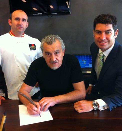 Jacob Torreblanca, Paco Torreblanca y Manuel Bonilla.