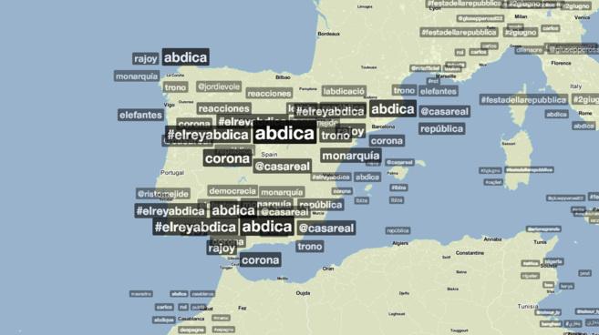 Etiquetas mencionadas en España a las 13:00 horas | TrendsMaps