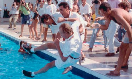 Al ganar la Copa del Rey de 1993 el monarca tachó de sosa a su...